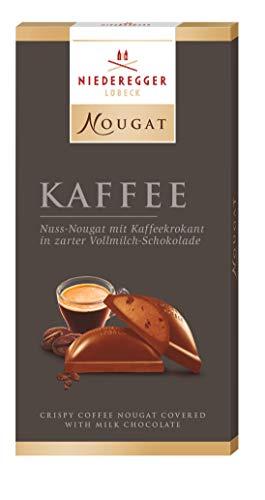Niederegger Nougat Tafel Kaffee, 10er Pack (10 x 100 g)