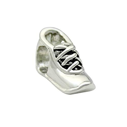 Auténtico Pandora 925 Colgante De Plata Esterlina Diy Zapatillas De Deporte Para Hombre Joyería De Moda Europea Y Americana Amuleto Fit Pulsera