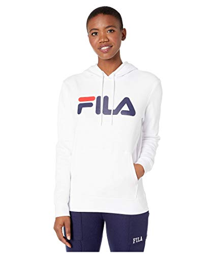 Fila Lucy Hoodie White/Peacoat MD