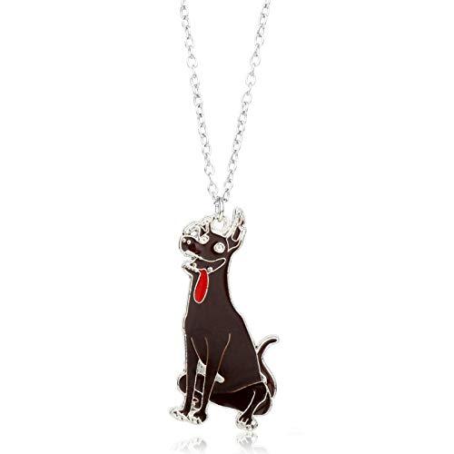 Película Dreaming Circle Travel NotesCocoLindo Perro Colgante Bob Esponja Cachorro Collar Unisex