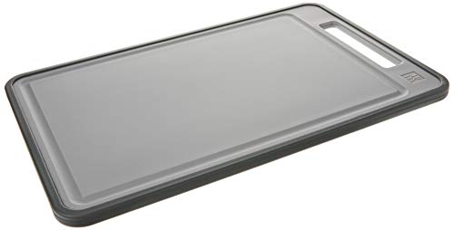 Zwilling Schneidbrett, Kunststoff, Grau, 38.5 x 25 x 1.3 cm