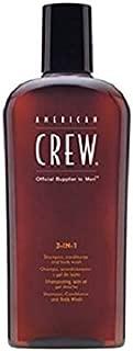 American Crew - CREW 3 IN 1 shampoo. conditioner and body wash 450 ml-Man