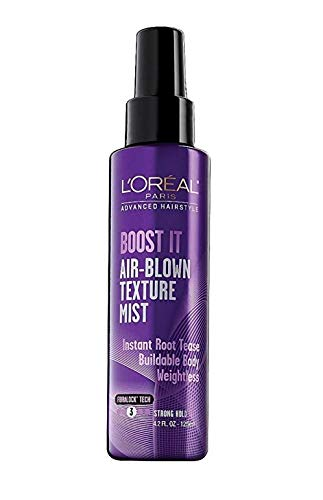 L'Oreal Paris Hair Care Advanced Hairstyle Boost It Texture Spray 4.2 oz (Pack of 2)