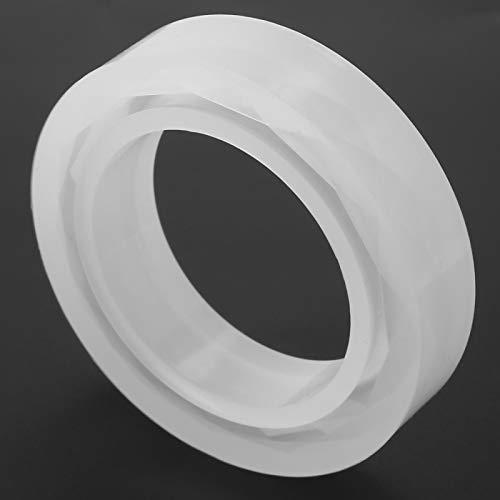 Moldes de resina para pulseras, flexibles hechos de silicona, molde para pulseras, superficie de forma hermosa, resistente para amantes de la joyería para joyería de bricolaje