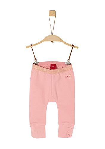 s.Oliver Baby-Mädchen 65.911.75.3008 Leggings, Rosa (Rose 4257), (Herstellergröße: 68)