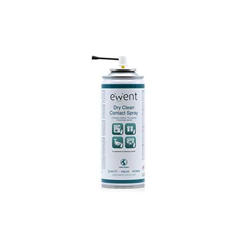 Ewent EW5614 - Pulverizador para la Limpieza en seco de contactos eléctricos Spray 200ml, Transparente