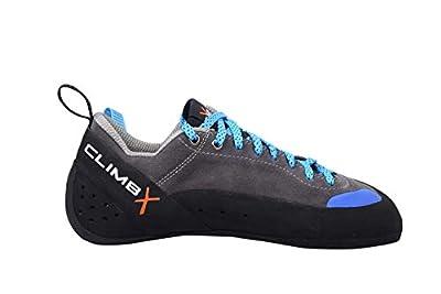 Climb X Crush Lace - Gray - 2020 Rock Climbing/Bouldering Shoe