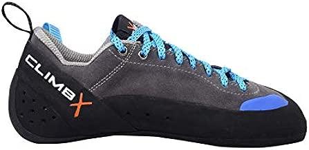Climb X Crush Lace - Gray - 2020 Rock Climbing/Bouldering Shoe (Gray, Numeric_10)