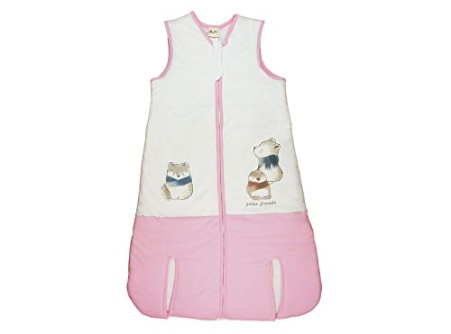 Kleines Kleid Ganzjahres Baby-Klein-Kinder-Schlafsack für Mädchen mit Tiermotiven in Größe 92 98 104 110 116 122 128 134 140 Baumwolle Schlafsack mit Füße Größe 92