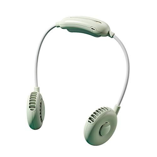 LYKYL Ventilador Recargable Ajustable Mini USB portátil Cuello Sport Fan Banda for el Cuello turística del Aire del Ventilador de refrigeración de la Mano Acondicionado