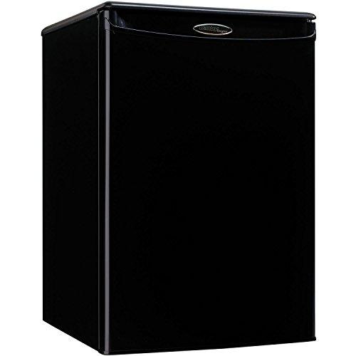 DANBY PRODUCTS DAR026A1BDD-3 DAR026A1BDD Compact Refrigerator, 115 V, 15 A, 1 Door 2.6 cu-ft Black