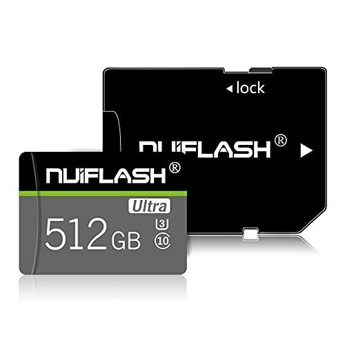 Micro SD Karte 512GB Speicherkarte mit...