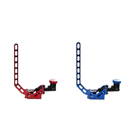 perfk 2 STK. Kupplungshebel Bremshebel Handbremse für Rennrad, Blau + Rot