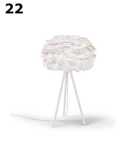 Vita, EOS, EOS, XS 22 cm, Micro, Tischleuchte, nachttischleuchte, avec câble blanc mat XS = 22 cm, Design Soren Ravn Christensen