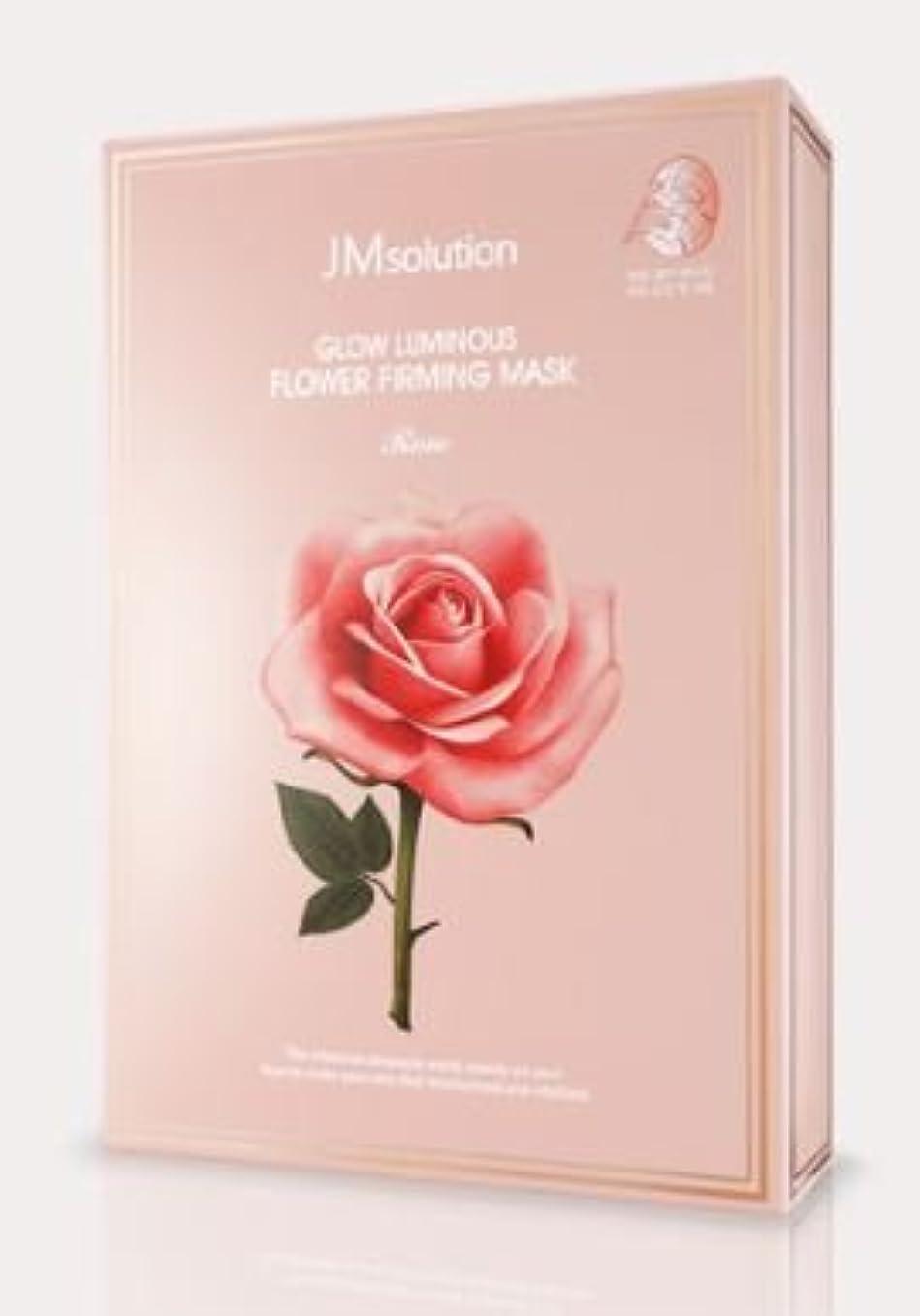 腐食するチーフどれでも[JM solution] Glow Luminous Flower Firming Mask Rose 30ml*10ea [並行輸入品]