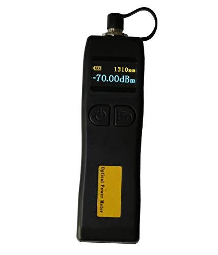 DAXGD Mini medidor de potencia óptica de fibra -70 ~ + 6dBm, medidor de potencia óptica de mano con interfaz universal de 2.5MM