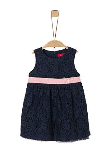 s.Oliver Junior 405.12.002.20.200.1279061 Kleid für besondere Anlässe, Baby - Mädchen, Blau 86 EU