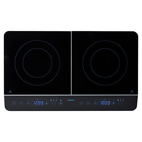 MEDION MEDION Doppel-Induktionskochplatte mit zwei Kochplatten Bild