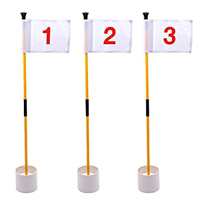 KINGTOP Golf Flags for