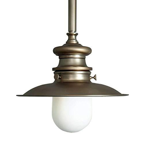 "1 Light Brushed Bronze Lantern 5.7""h x 9.9""w x 9.9 Antique Brass"