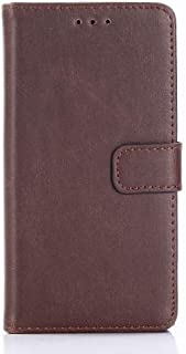 Sony Xperia XZ1 Compact Leather Flip Case Cover - Brown.