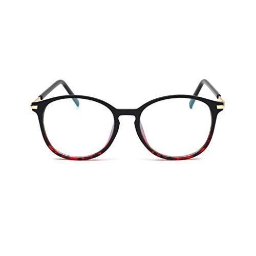 Rechteckig Klare Brillengestelle Damen Herren Brillenfassung Retro Brille