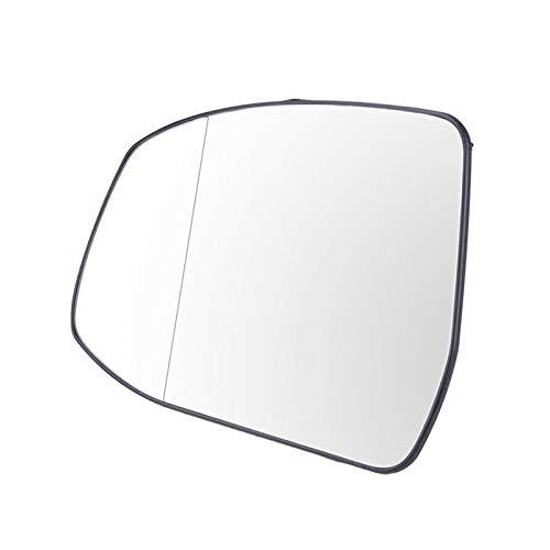 XIAOFANG Novel-Nome Auto Links Seitenflügel Spiegelglas mit Klammern passen für Ford Focus 2012-2014 Ersatzteile erhitzte Linke Seitenflügelspiegel Rückseite