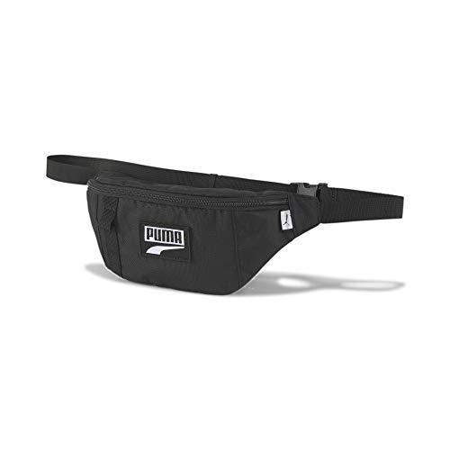 PUMA Deck Waist Bag Riñonera, Unisex-Adult, Black, OSFA