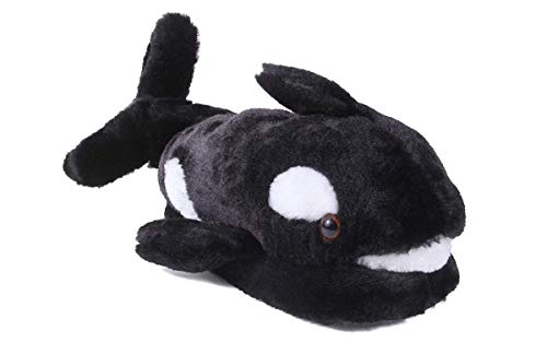 9046-3 - Whale - Large - Happy Feet Kids and Adult Animal Slippers