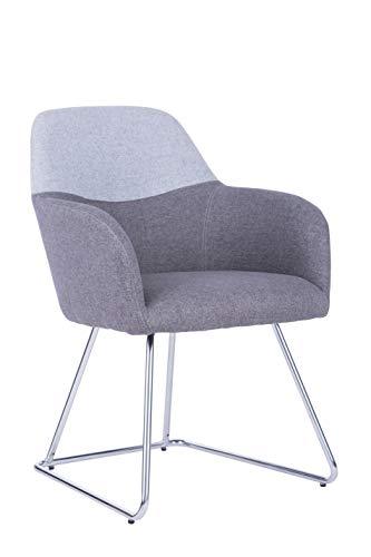 Archimede Austin hangstoel stof, lichtblauw, L 57 x B 62 x H 83