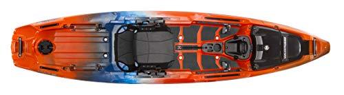 Wilderness Systems Atak 120   Sit on Top Fishing Kayak   Premium Angler Kayak   12'   Atomic