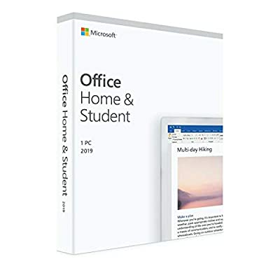 Office Home And Student 2019 - Key Card - Lifetime License (Windows Only) - Discount