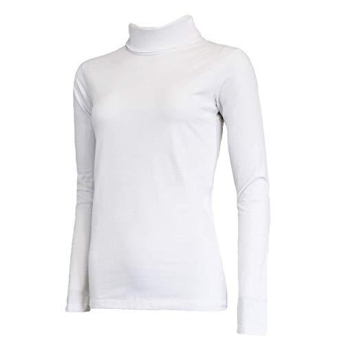 Campri Pull de ski pour femme Blanc Taille XXL