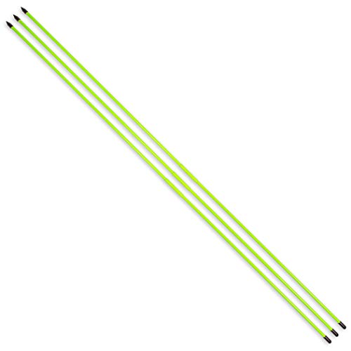 GoSports Golf Alignment Training Sticks 3 Pack | Golf Alignment Aid Practice Rods