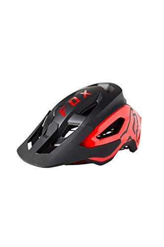 Fox Racing Mens SPEEDFRAME PRO Mountain Biking Helmet,Black/Red,Medium