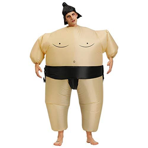 Aufblasbares Kostüm Erwachsene Kinder - Aufblasbares Sumo Ringer Kostüm, Zwei Größen, Funny Aufblasbares Sumo Kostüm, Aufblasbares Sumoringer Kostüm Für Spiele Fasching Karneval Party