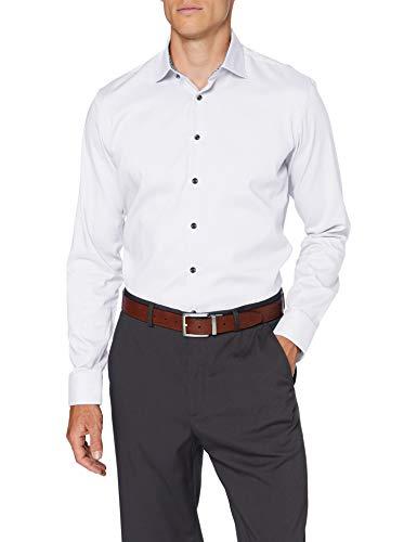 Seidensticker Herren Business Hemd - Bügelfreies Hemd mit sehr schmalem Schnitt - X-Slim Fit - Langarm - Kent-Kragen - 100{4a09269687d227bb833bb3b66901d85375d31ff642c21393e108084b180bfda7} Baumwolle