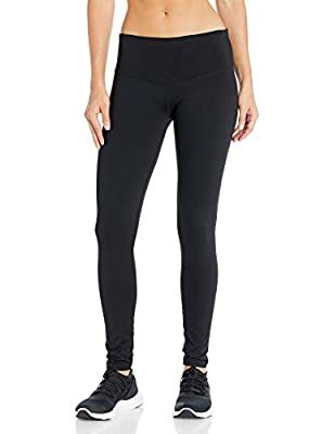 "Starter Women's 29"" High-Waisted Performance Workout Legging, Amazon Exclusive, Black, Large"