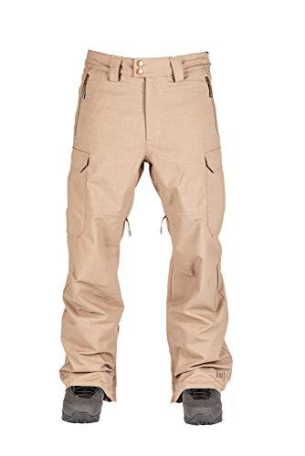L1 Brigade Pnt´21 - Pantalones de Nieve para Hombre, Hombre, Pantalones para Nieve, 1211-873730-3003, Beige, 48 S
