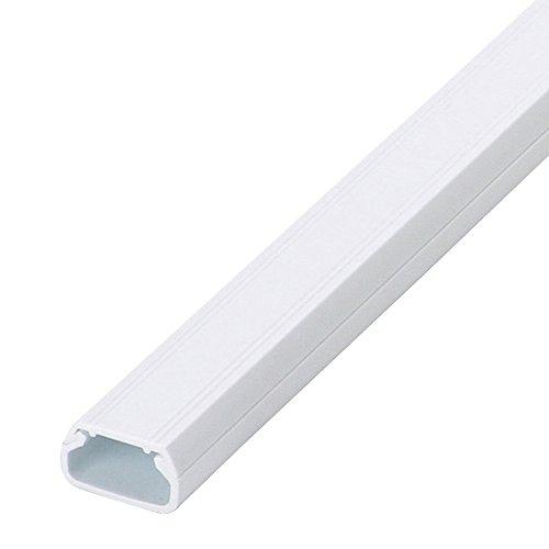 マサル工業 ニュー・エフモール テープ付 ホワイト 2号 SFT22 10個入り