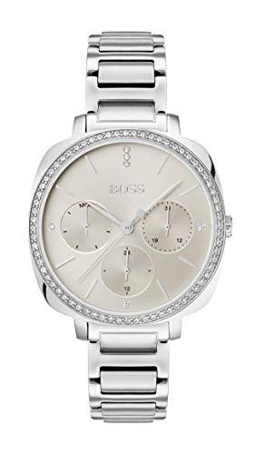 Hugo Boss Orologio Multi-quadrante Quarzo Donna con Cinturino in Acciaio Inox 1502492