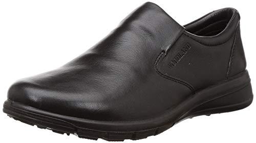 Woodland Men's OGC 3315119_Black Leather Clogs-8 UK (42 EU) (9 US) 3315119BLACK