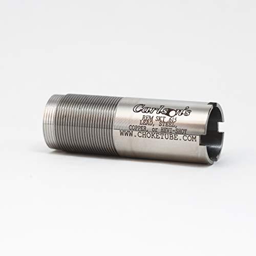 Carlsons Choke Tube Remington 20 Gauge Flush Mount Replacement Stainless Choke Tube, Skeet, Silver
