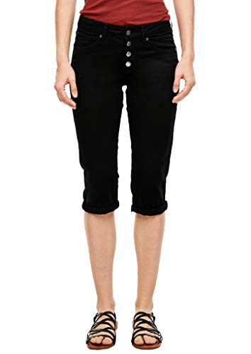 Q/S designed by - s.Oliver Damen 46.906.76.2130 Jeans, Schwarz (9999 Black), 44