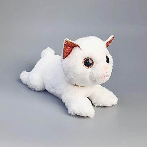 N / A Katzen Plüsch Gefülltes Spielzeug Kawaii Soft Appease Toy PP Baumwollpuppe Geburtstag Kinder Kinder Baby 23cm