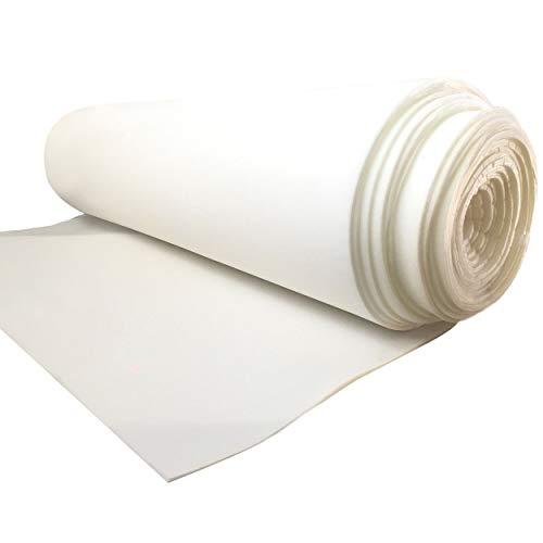 Recorte gomaespuma 100 x 150 cm de poliuretano color blanco apto para relleno de cojines