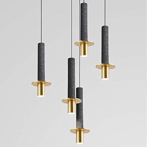 Lyuez eenvoudig bedlampje van marmer LED spaarlamp afzonderlijke hoofd creatieve design kroonluchter verstelbaar voor eetkamer