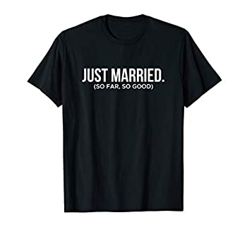 Couple Shirt Just Married T-Shirt
