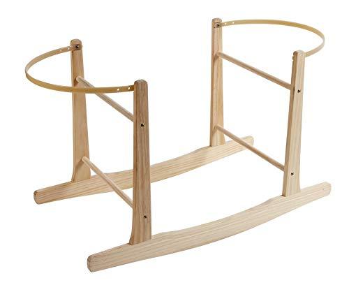 Natural Pine Moses Basket Rocking Stand