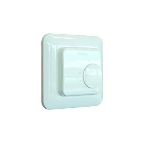 warmup manueller thermostatisch Fernbedienung weiß mstat